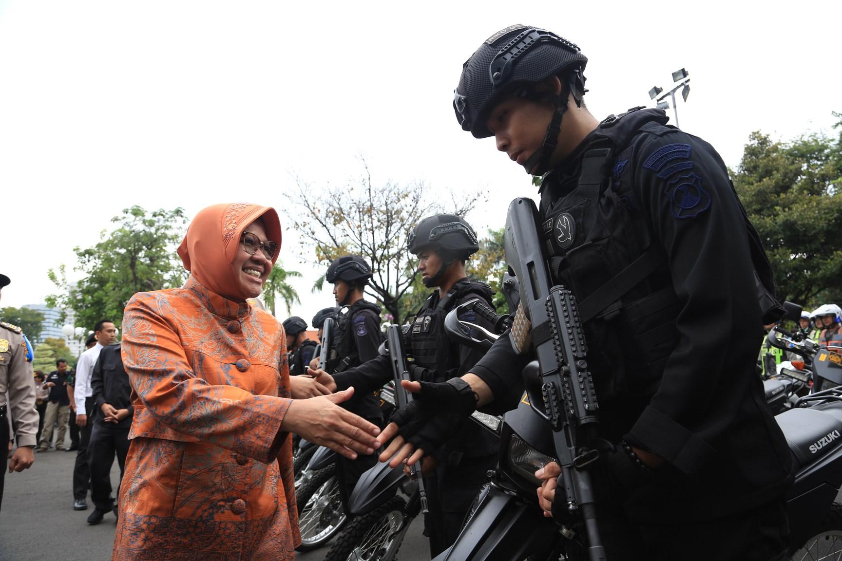 Surabaya Siagakan Pengamanan Kota dan Permukiman Yang Ditinggal Mudik
