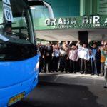 Kloter Pertama CJH Embarkasi Surabaya Diberangkatkan
