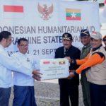 Bantuan Kemanusiaan Indonesia Tiba di Yangon Myanmar