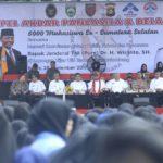 5.000 Mahasiswa se-Sumsel Ikrarkan Tolak Radikalisme dan Paham Khilafah Masuk Kampus