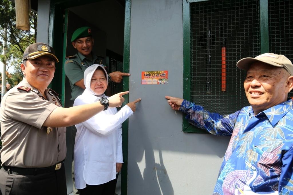 Pemkot Surabaya Galakkan Kembali Budaya Wajib Lapor