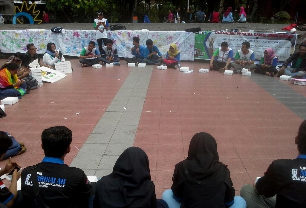 Hadirkan Pemuda Damai Jawa Timur untuk Wujudkan Toleransi di Indonesia