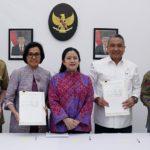 4 Menteri Tanda Tangani SKB Penyelarasan dan Penguatan Kebijakan UU Desa