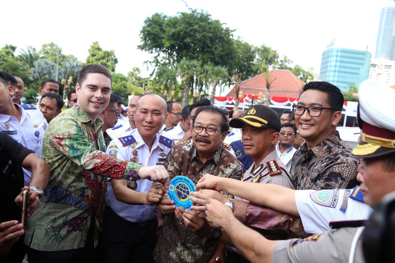 Angkutan Online Berizin Mulai Beroperasi di Jawa Timur