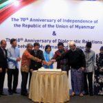 Menko Polhukam Berharap Hubungan Indonesia-Myanmar Semakin Mendalam