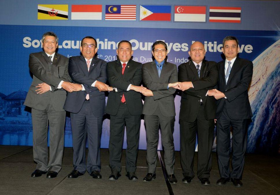 """Soft Launching """"Our Eyes"""", Indonesia dan Lima Negara ASEAN Kerja Sama Pertukaran Informasi Strategis"""