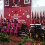Natal PDI Perjuangan Jawa Timur, Hadirkan Kasih Dalam Kebhinnekaan
