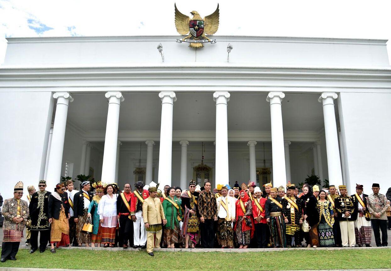 Presiden Dukung Pelestarian Kerajaan dan Kesultanan Nusantara