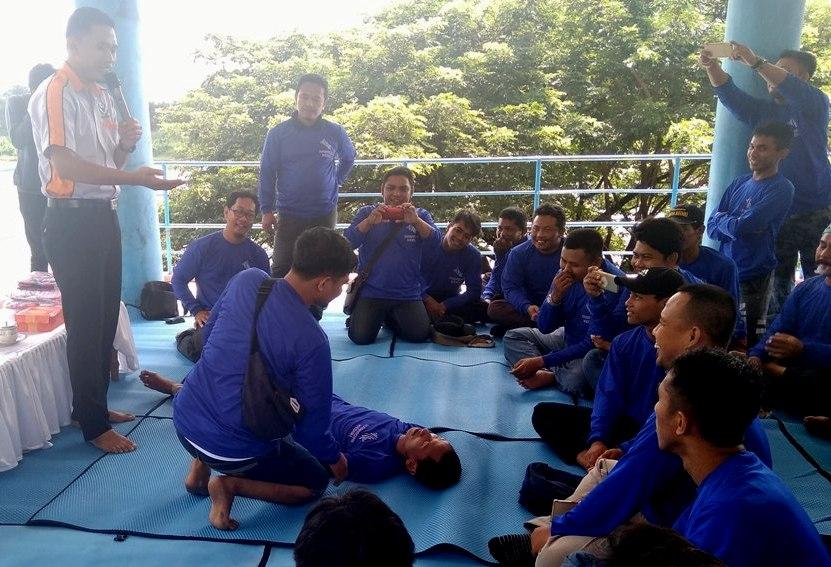 BPBD Kota Kediri Latih Karang Taruna Hadapi Bencana