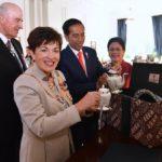 Diplomasi Kopi Presiden Jokowi di Selandia Baru