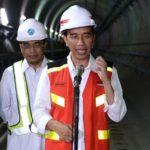 Presiden Jokowi Pastikan MRT Beroperasi Maret 2019