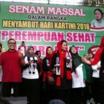 Peringati Hari Kartini, Puti Guntur Soekarno Senam Bersama Ribuan Perempuan