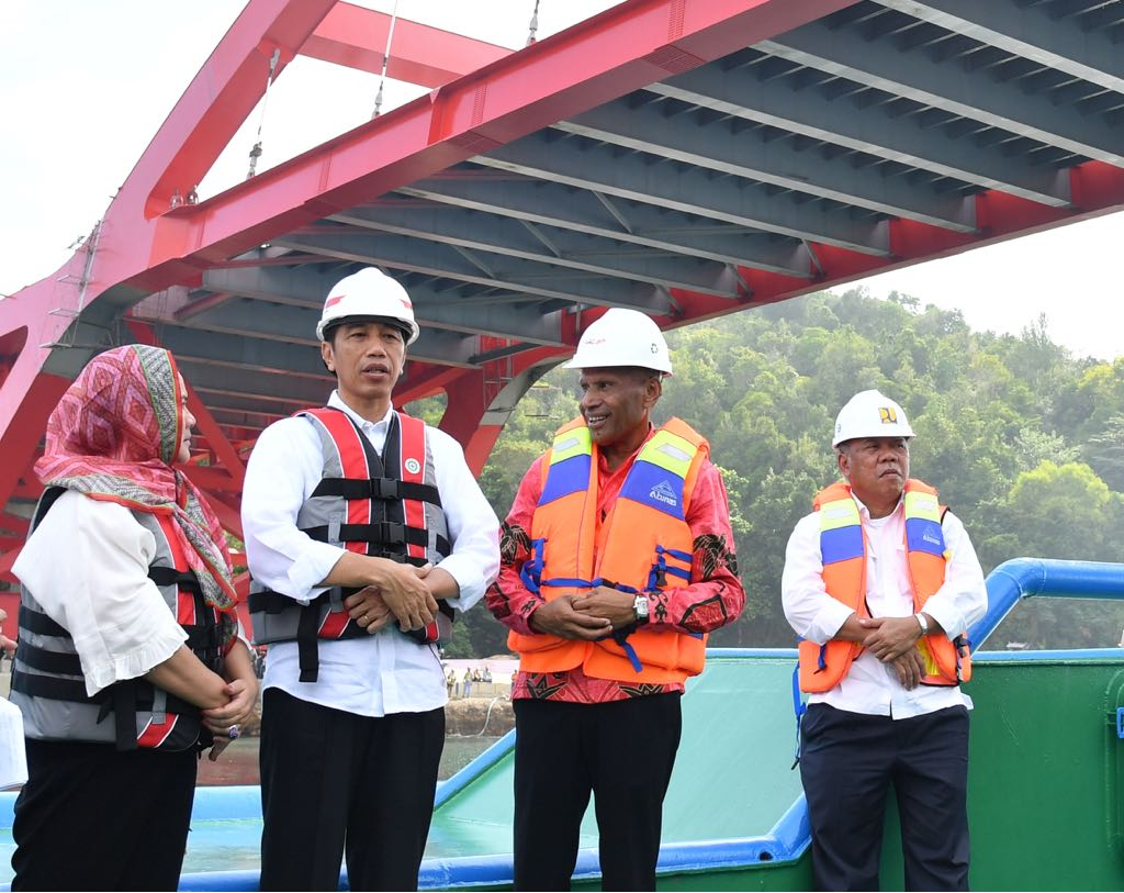 Jembatan Holtekamp Diharapkan Tingkatkan Pertumbuhan Ekonomi