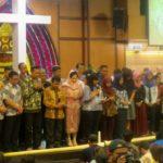 Menumbuhkan Keberanian pasca Serangan Bom, GKI Diponegoro Gelar Doa Bersama Lintas Iman