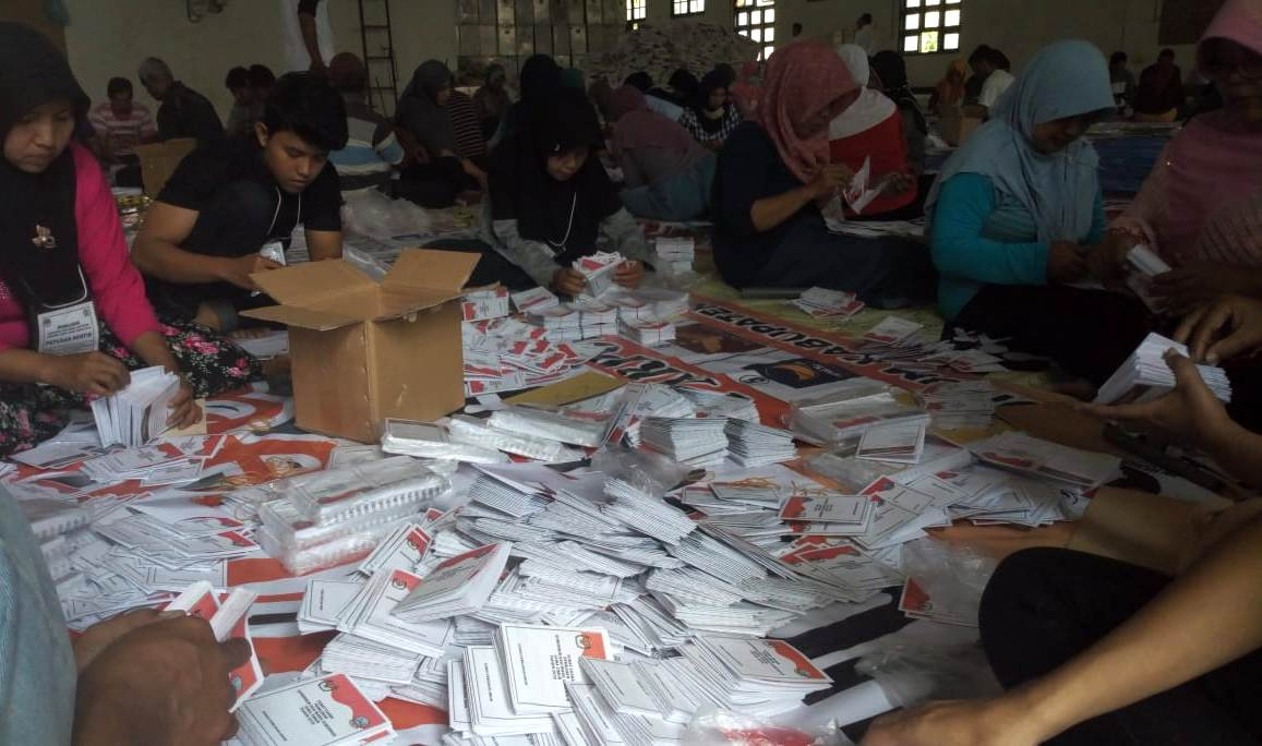 Ribuan Surat Suara Pilgub Jatim 2018 Rusak Di Ponorogo