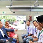 Presiden Resmikan Kereta Bandara Ketiga di Indonesia