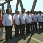 Jembatan Wijaya Kusuma Kediri Diresmikan