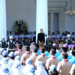 Presiden Jokowi Ajak Masyarakat Teguhkan Semangat Lahirnya Pancasila