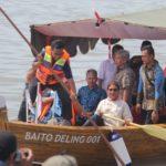 Menteri KKP Resmikan Kapal Berbahan Bambu Karya ITS