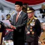 Presiden Jokowi Apresiasi Kinerja Kepolisian RI