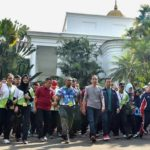 Presiden Jokowi Bertemu Atlet Panahan di Istana Bogor