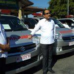 Bupati Ponorogo Bagikan 50 Unit Mobil Siaga Desa