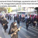 Polresta Probolinggo Pastikan Tidak Ada Kesengajaan Pakai Kostum Serupa ISIS pada Karnaval Budaya