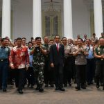 Presiden Ingatkan Perwira TNI-Polri Ikuti Perkembangan Zaman