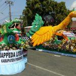 Pawai Mobil Hias di Ponorogo, Semarakkan HUT ke 73 Kemerdekaan Indonesia