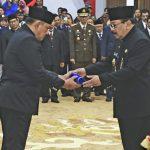 Gubernur Lantik Heru Tjahjono Sebagai Sekdaprov Jawa Timur