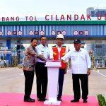Presiden Jokowi Resmikan Tol Depok-Antasari Seksi I