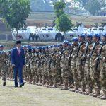 Presiden Berangkatkan Pasukan Garuda ke Kongo dan Lebanon