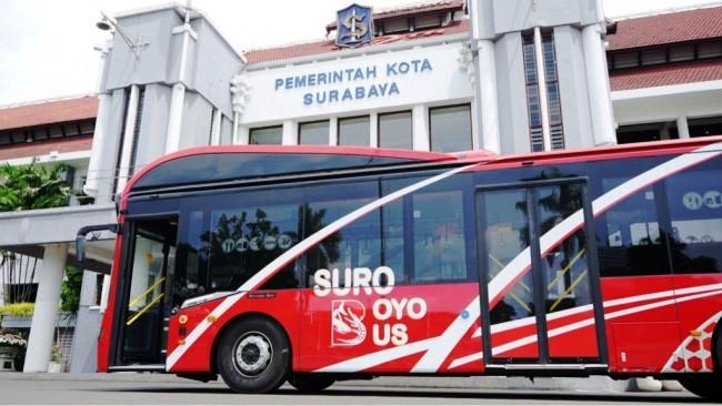Bus Suroboyo Dioptimalkan Pasca-Pembatalan Proyek Trem