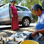 Kuliner Ikan Kali di Obyek Wisata Bendungan Waru Kediri