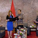 Presiden Jokowi dan Melinda Gates Diskusi Mengenai Pembangunan Manusia