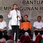 Presiden Jokowi Minta Dana Bantuan Korban Gempa Lombok Harus Jadi Rumah
