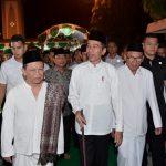 Presiden Jokowi Kunjungi Ponpes Girikesumo Demak, dan Pusat Perbelanjaan di Semarang