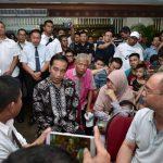 Presiden Jokowi Temui Keluarga Korban Kecelakaan Pesawat Lion Air