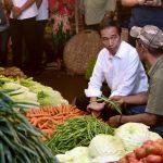 Blusukan ke Pasar Bogor, Presiden Jokowi Ingin Pastikan Harga Stabil