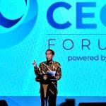 Presiden Jokowi Minta Para CEO Jeli Lihat Peluang di Tengah Ketidakpastian Ekonomi Global