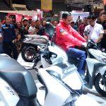 Kunjungi IMOS 2018, Presiden Jokowi Apresiasi Industri Sepeda Motor Indonesia