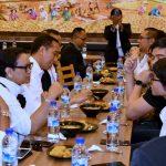 Tiba di Singapura, Presiden Jokowi Ajak WNI Santap Siang Bersama