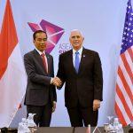 Presiden Jokowi Bahas Kerja Sama Tiga Bidang Dengan Wapres Amerika Serikat