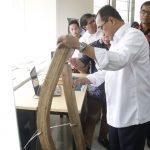 Menteri Perhubungan Tertarik Kapal Bambu Buatan ITS