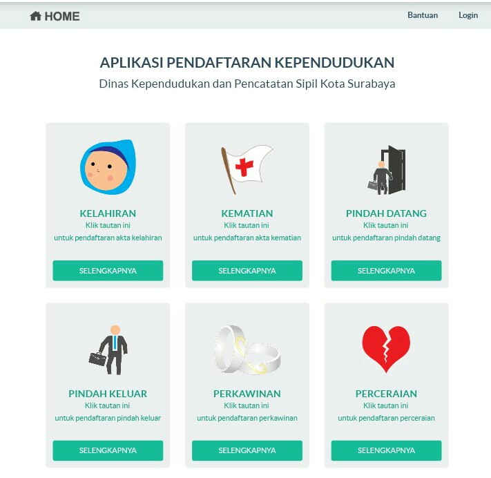 Dispendukcapil Surabaya Permudah Urus Surat Pindah Datang Penduduk