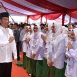 Kunjungi Unisa, Presiden Akui Peran Sentral Muhammadiyah Bangun SDM