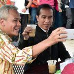 Kunjungi Rest Area di Kendal, Presiden Sempatkan Ngopi Produk Lokal