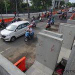 Polisi Tetapkan Satu Tersangka Amblesnya Jalan Gubeng