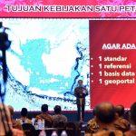 Presiden Luncurkan Geoportal Kebijakan Satu Peta