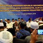 Silaturahmi dengan Ulama, Presiden Bahas RUU Pesantren